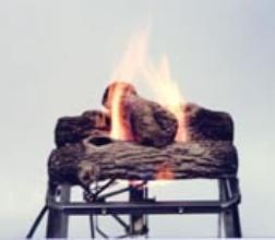 Camp Fire Logs